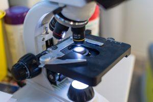 Nahaufnahme Mikroskop